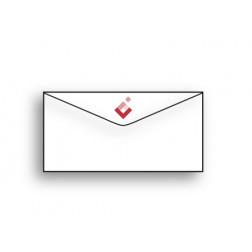 Enveloppe C5/6 sans fenêtre - impression numérique